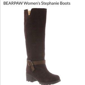 Bearpaw- Stephanie Boot, walnut brown, 7.5
